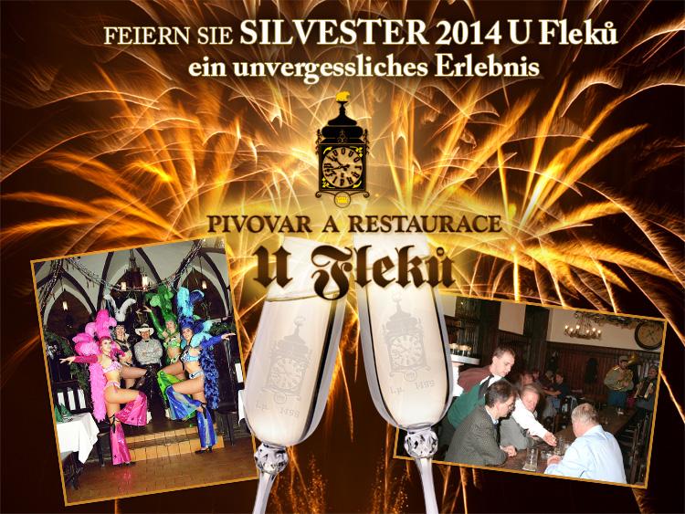 Silvester U Fleků 2014